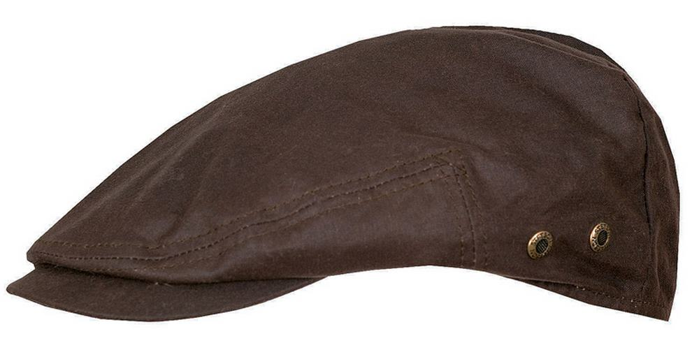 Berretto Stetson Adin waxed cotton impermeabile