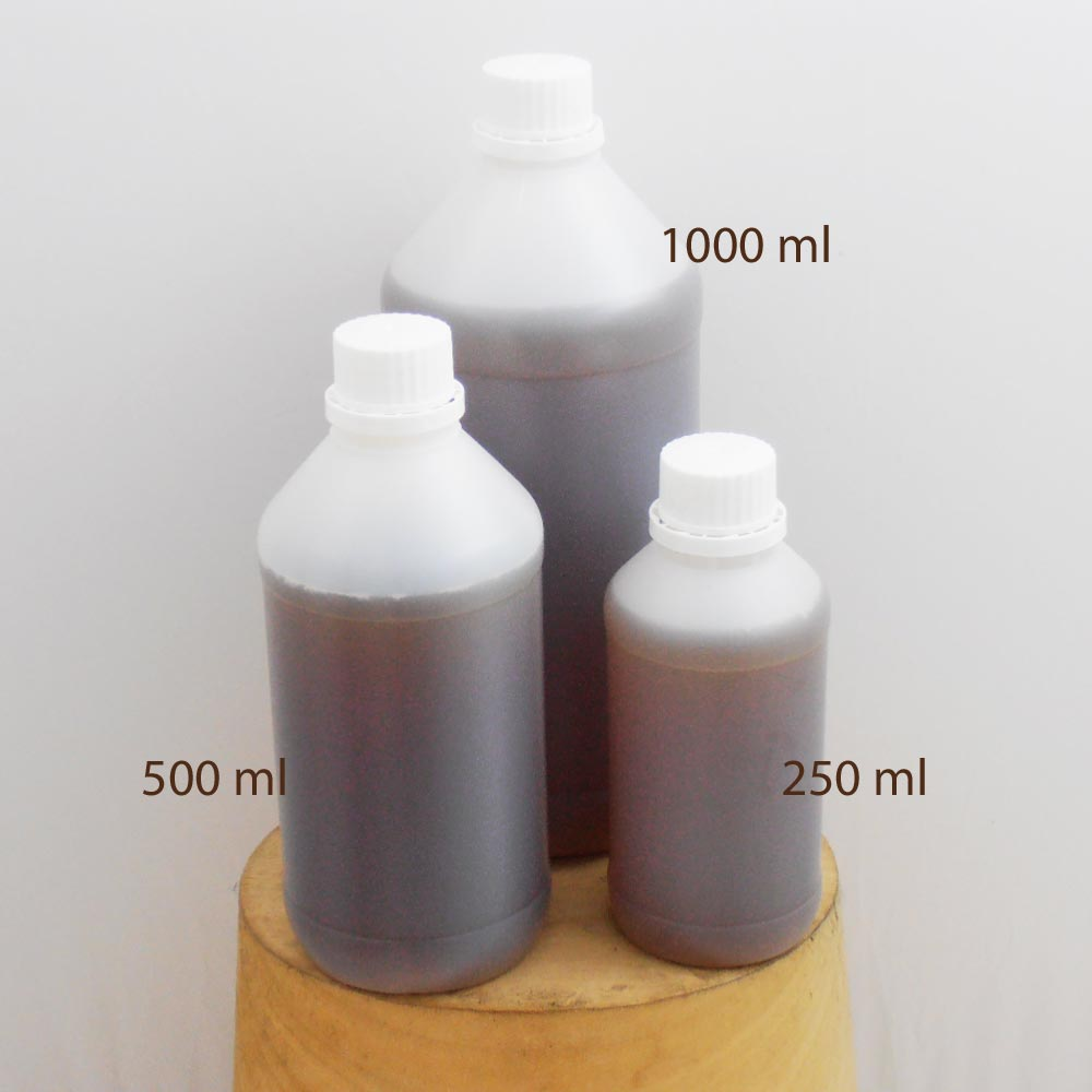 Amber hat stiffener natural shellac 1000 ml so