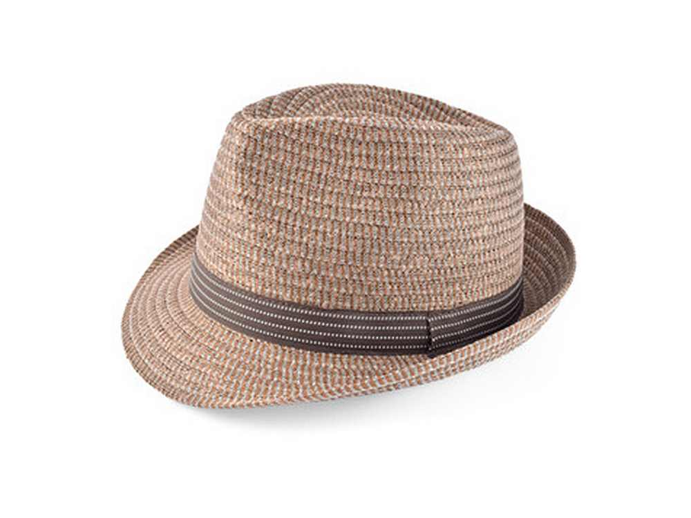 Cappello Jazz trilby marrone Roger hat Ingross