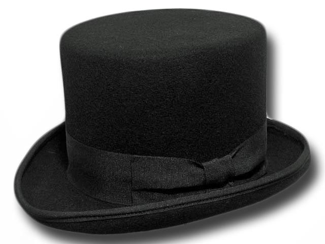 Cappello a cilindro nero in feltro di lana  cilindro-nero  45.00EUR ... 0ebbb175a860