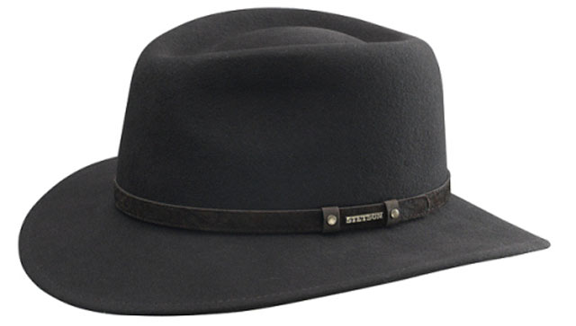 Cappello traveller Biscoe Stetson hat