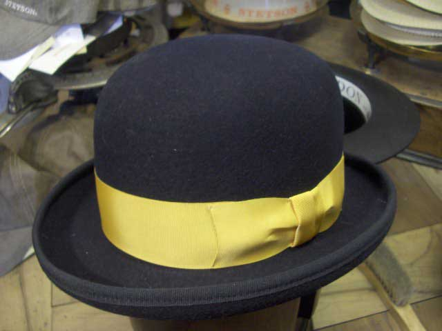 Funky bowler hat