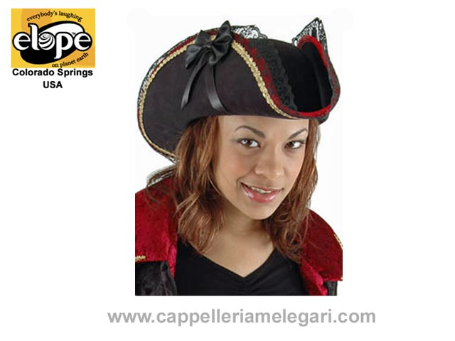 ELOPE U.S.A. Tricorn hat, woman pirate, Lady B
