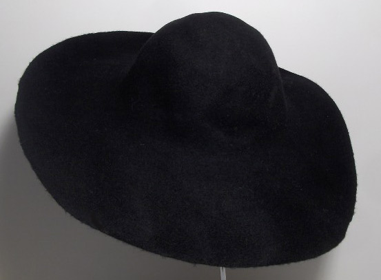 Hat body cone wool felt 150 gr.
