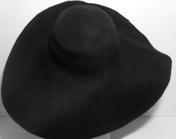 Hat body cone wool felt 250 gr.