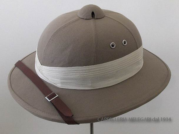 Casque colonial African Safari Pith Helm
