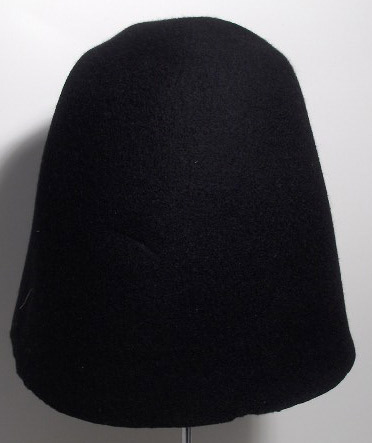 B2B Hat body cone wool felt 90/100 gr