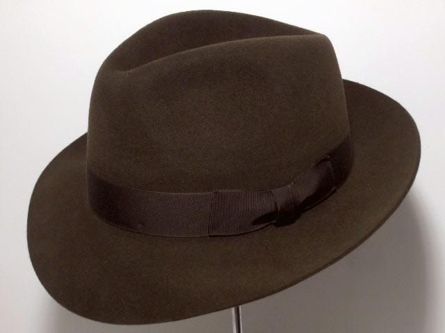 Cappello Fedora Melegari feltro uomo velour al b1e9ba7e5aea