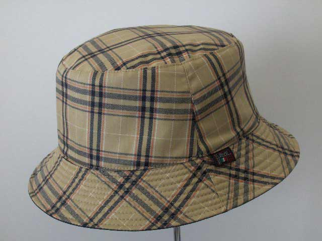 Waterproof pocket Storm tartan hat