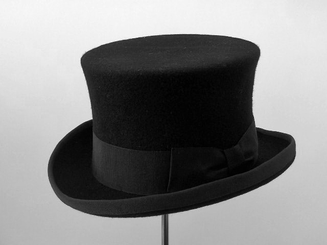 Children Top Hat wool felt