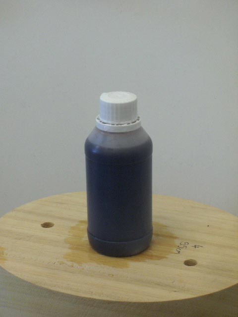 Dark hat stiffener natural shellac 100 ml solu