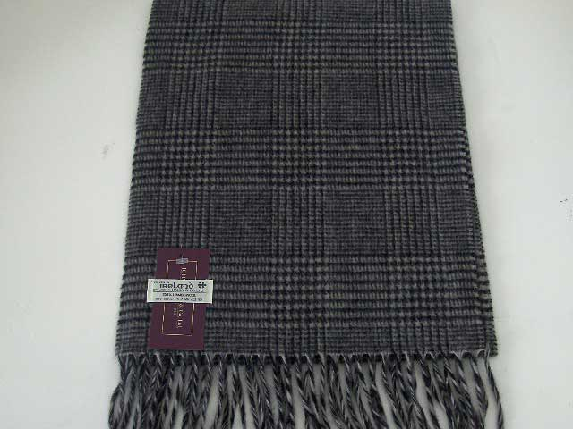 Lambswool Irish Galles scarf J.Hanly