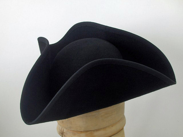 Cappello a tricorno artigianale Orlato 4d201b16c351