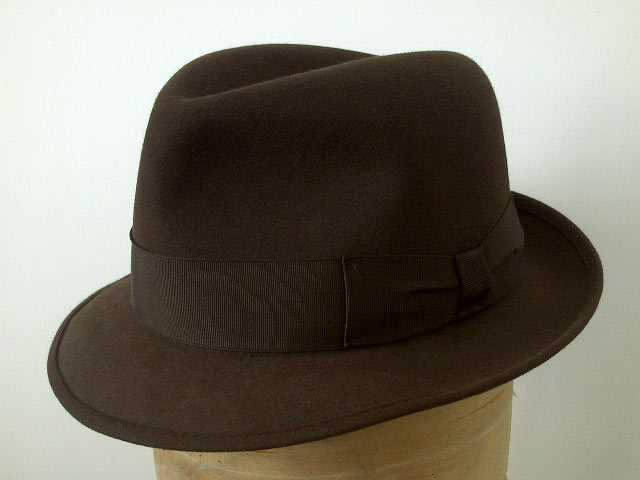 Melegari Trilby Blues Brothers soft hat