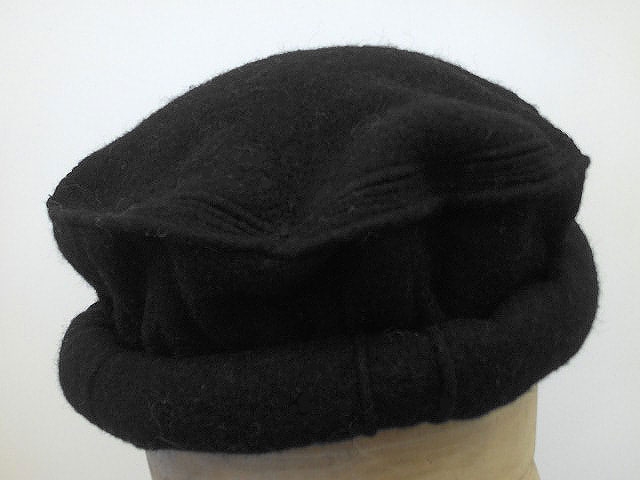 Pakol Afghan Hero Massud hat black