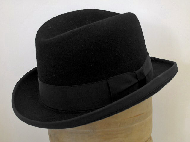 Cappello a lobbia homburg godfather hat in fel