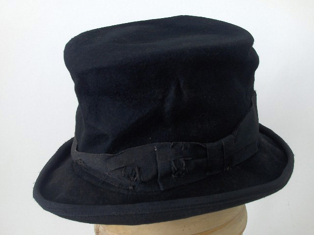 Cappello a cilindro Clochard anticato Top Hat
