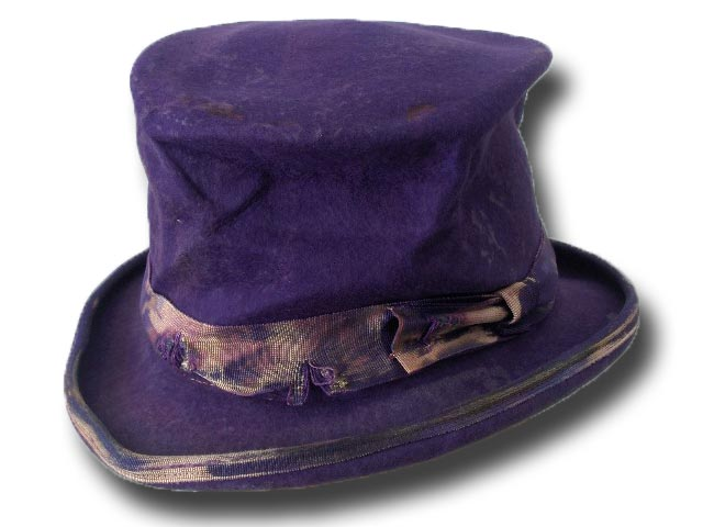 Cappello a cilindro Dandy Aged Clochard Top Hat