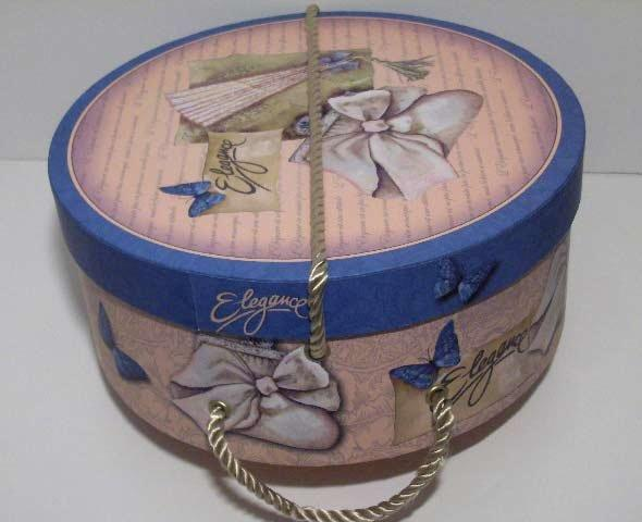 Melegari fancy hat box 32 cm