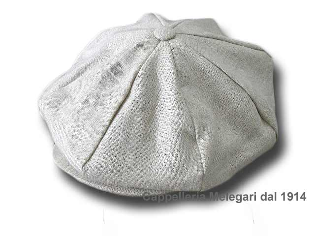Hanna Hats Gatsby linen cap 8 pieces
