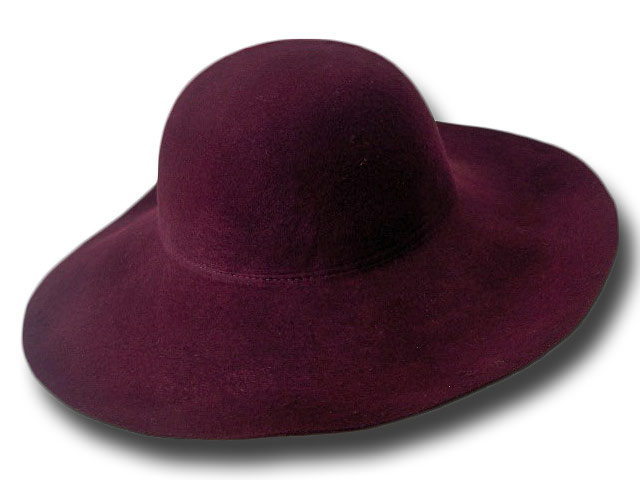 Pamela Hat woman theater wide-brimmed soft 3
