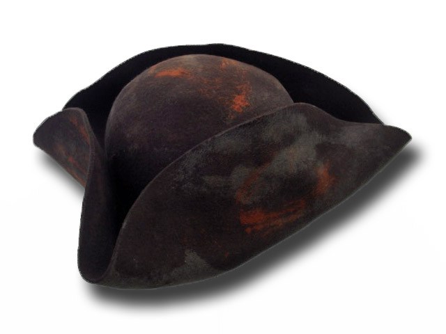 Pirates of the Caribbean Tricorn hat Johnny De