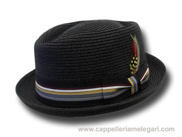 Dorfman Pacific Jazz Pork Pie Memphis hat blac