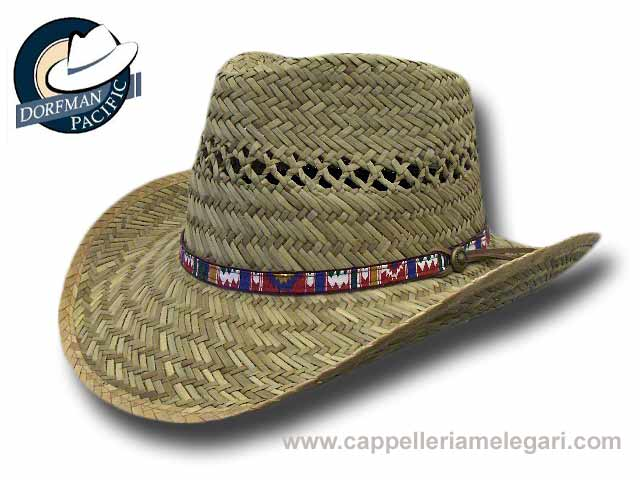 Dorfman Pacific Country Rush straw Mesa Hat