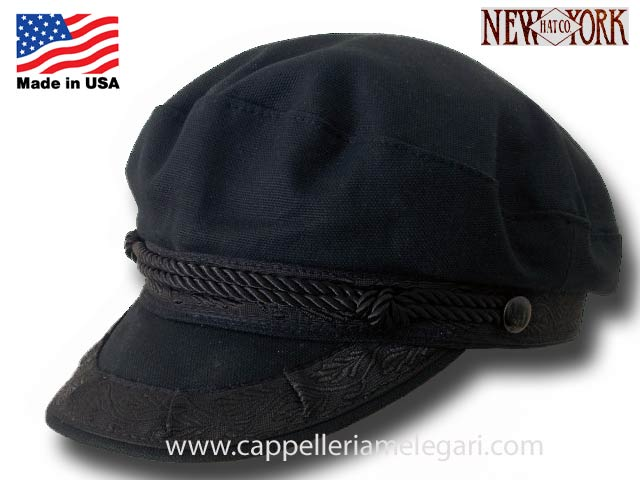 Cotton Greek Fishermen cap Made in USA