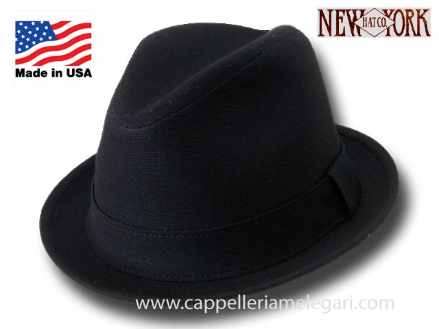 Trilby Hat New York Hat Cotton Rocky Balboa