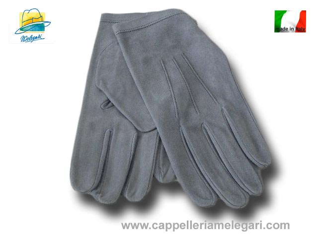 Wedding Tight gloves Melegari Grey