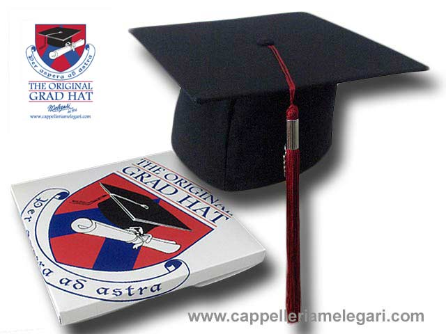 Cappello da laurea Tocco Graduation The Origin