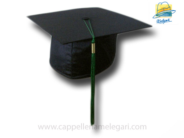 College Grad Hat Mortarboard Green