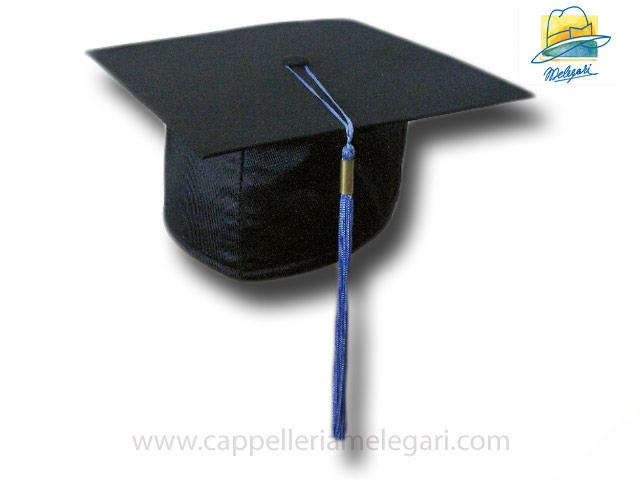 College Grad Hat Mortarboard Sky Blue