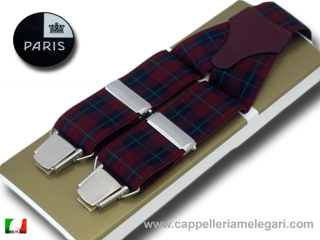 Suspenders wide men Paris Scottish Fantasy dar