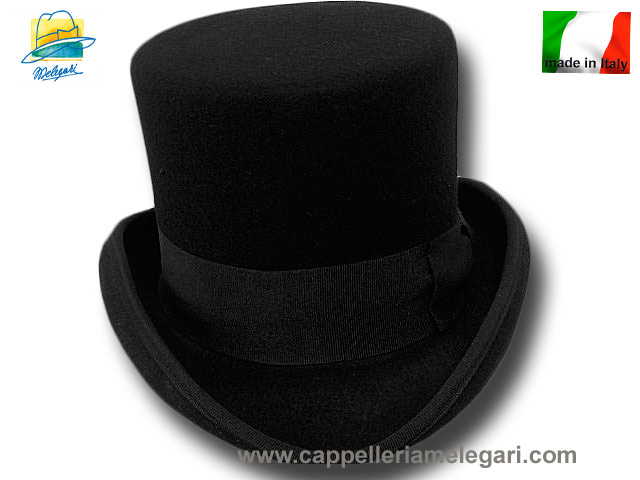 Melegari Western Top Hat Black