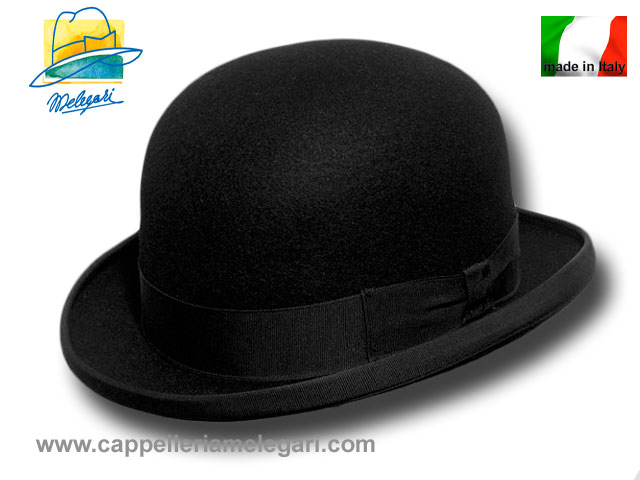 Melegari Top quality wool bowler hat