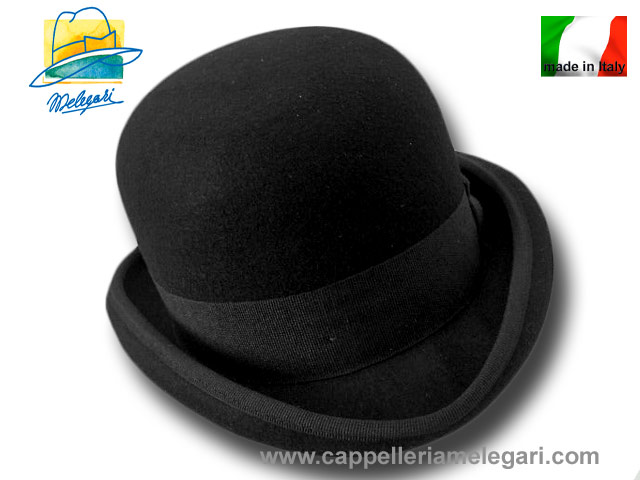 Western Bowler hat black 12 hats