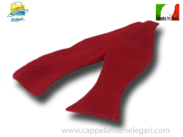 Papillon smoking tie pure silk handmade in Ita