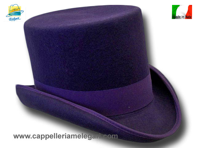 Melegari Western Top Hat Purple