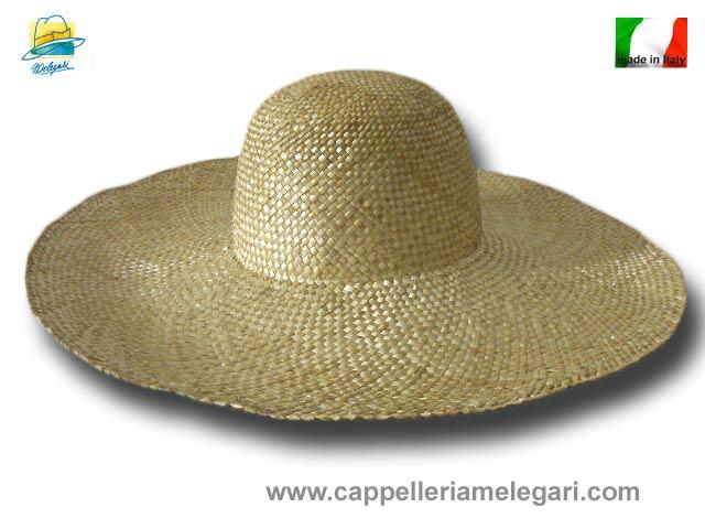 Cappellina donna paglia di grano ala larga 16 39dd0fd1822a