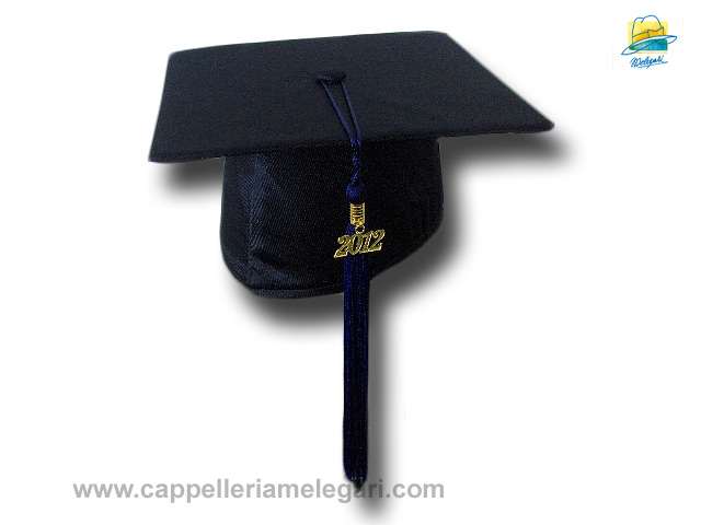 Basic Grad Hat Mortarboard blue