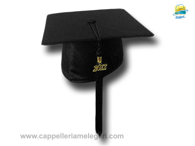 Basic Grad Hat Mortarboard black