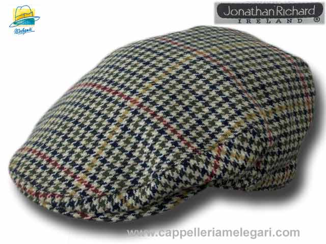Chapeau Irlandaise Tweed Flat County Sligo Jon
