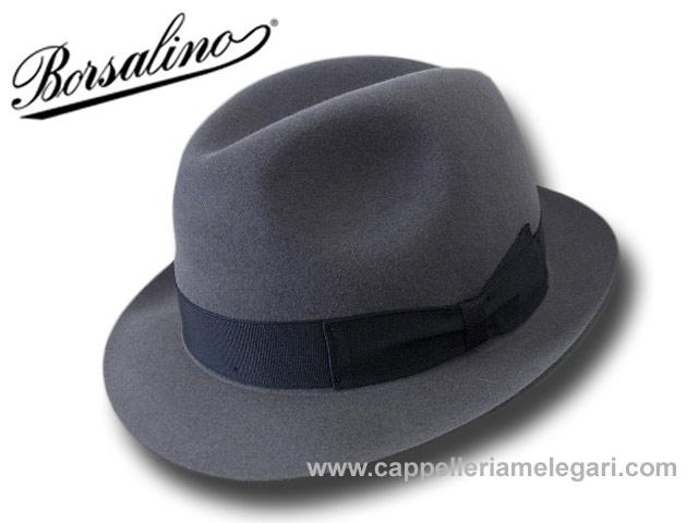 Borsalino Cappello Fedora Marengo ala 5 64a1cd97cd43