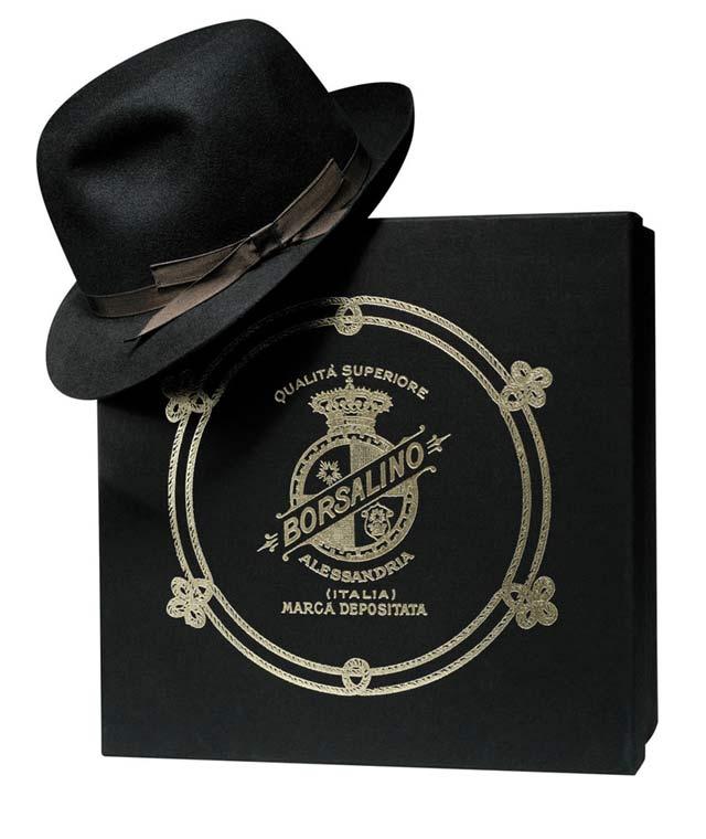 Borsalino Cappello Fedora Icaro Nero ec8d1947fbf1