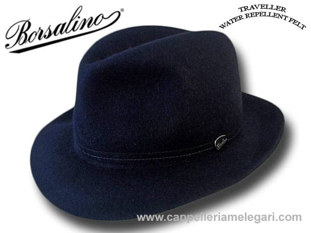 Cappello Borsalino Traveller arrotolabile impe
