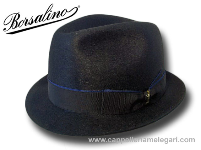 Borsalino trilby jazz hut fur shine felt