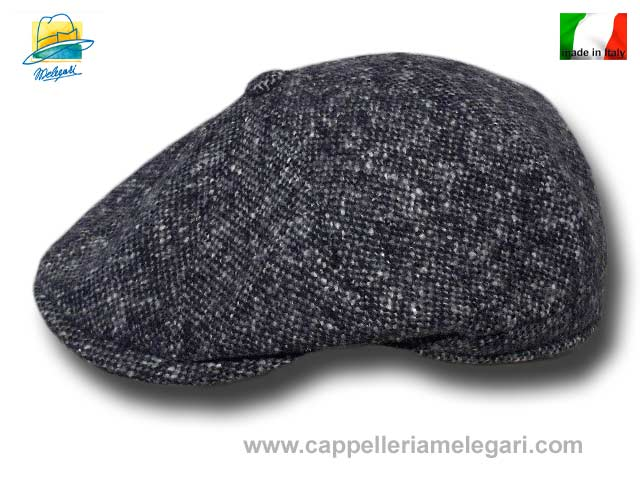 Melegari New York Gatsby cap Dark gray