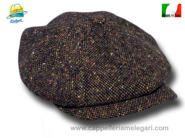 Marsellaise Gatsby cap Belmondo Brown